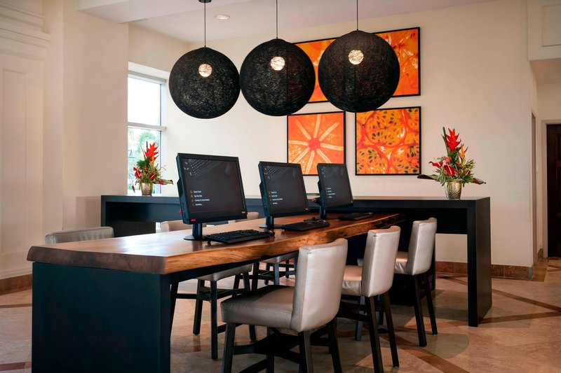St. Kitts Marriott Resort-Business Center<br/>Image from Leonardo