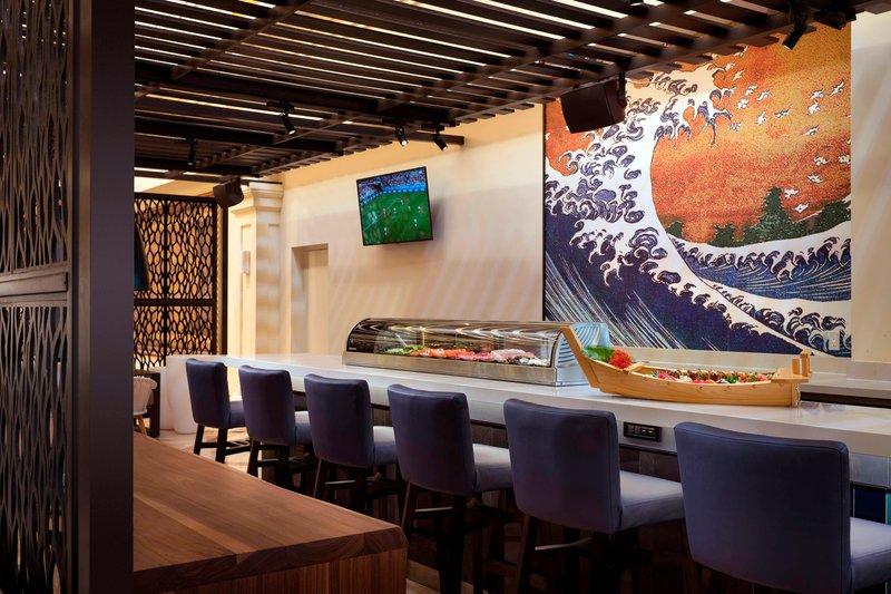St. Kitts Marriott Resort-ARWEE Lobby & Sushi Bar<br/>Image from Leonardo
