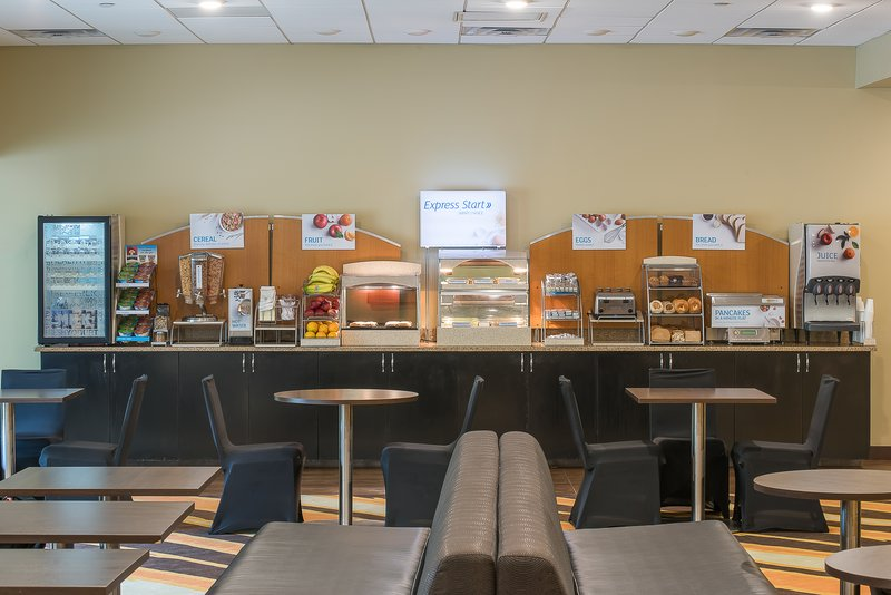 Holiday Inn Express Princeton Southeast-Complimentary Breakfast Bar<br/>Image from Leonardo