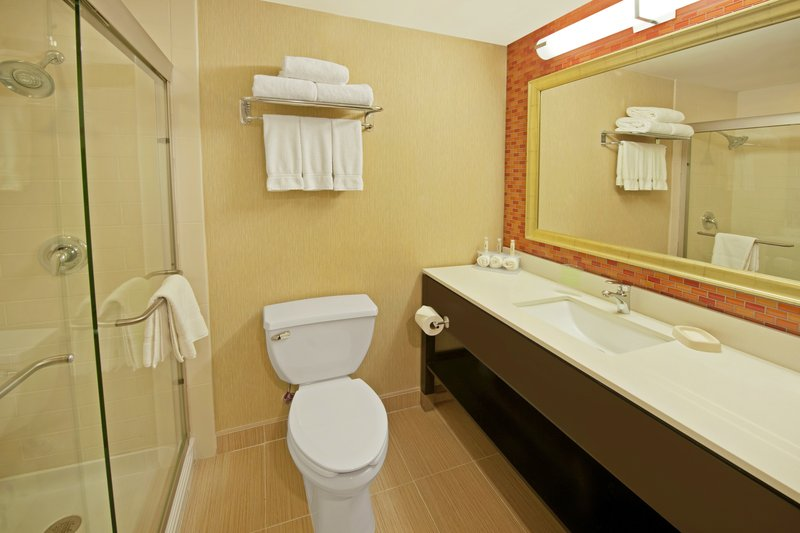 Holiday Inn Express Princeton Southeast-Guest Bathroom<br/>Image from Leonardo