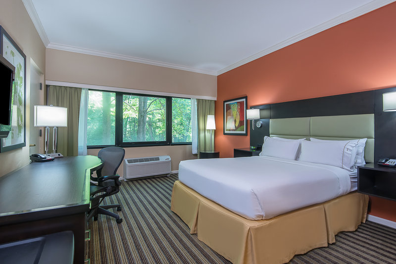 Holiday Inn Express Princeton Southeast-Queen Bed Guest Room with Complimentary Wifi<br/>Image from Leonardo