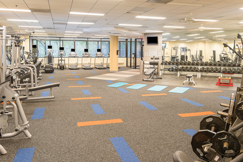 Holiday Inn Express Princeton Southeast-24 Hour Fitness Center<br/>Image from Leonardo