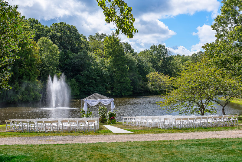 Holiday Inn Express Princeton Southeast-Outdoor Wedding<br/>Image from Leonardo