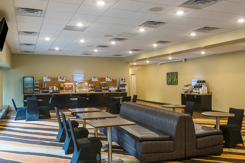 Holiday Inn Express Princeton Southeast-Complimentary Breakfast Area<br/>Image from Leonardo