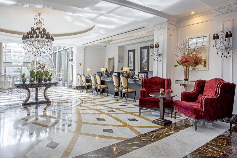 Intercontinental Porto - Palacio das Cardosas-Welcome to our hotel reception with free WiFi<br/>Image from Leonardo