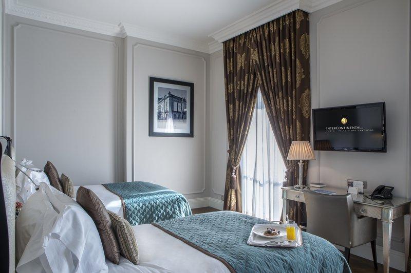 Intercontinental Porto - Palacio das Cardosas-Twin Deluxe Room<br/>Image from Leonardo