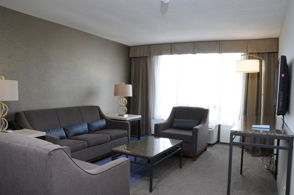 Holiday Inn Columbia East - Jessup-Living Area with pullout sofa bed and separate bathroom<br/>Image from Leonardo