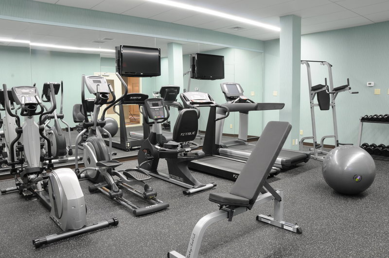 Holiday Inn Columbia East - Jessup-Hotel Fitness Center Gym Columbia Jessup Baltimore DC BWI Airport<br/>Image from Leonardo