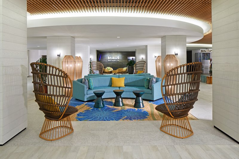 Waikiki Beachcomber By Outrigger - Lobby <br/>Image from Leonardo