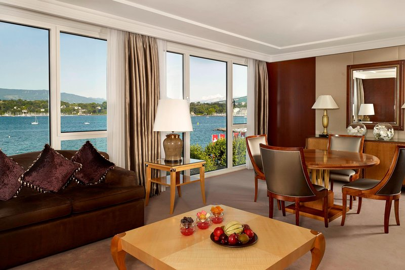 Hotel President Wilson; a Luxury Collection Hotel-Crown Suite - Living Area<br/>Image from Leonardo