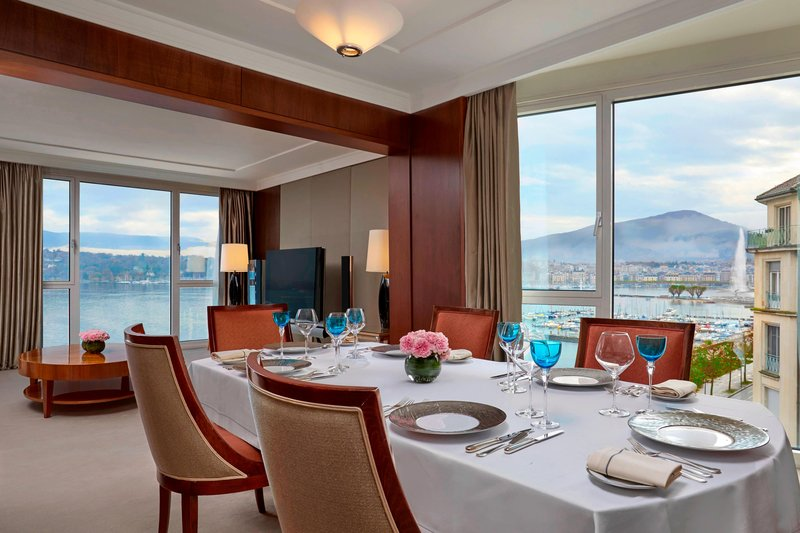 Hotel President Wilson; a Luxury Collection Hotel-Presidential Suite - Dining Room<br/>Image from Leonardo