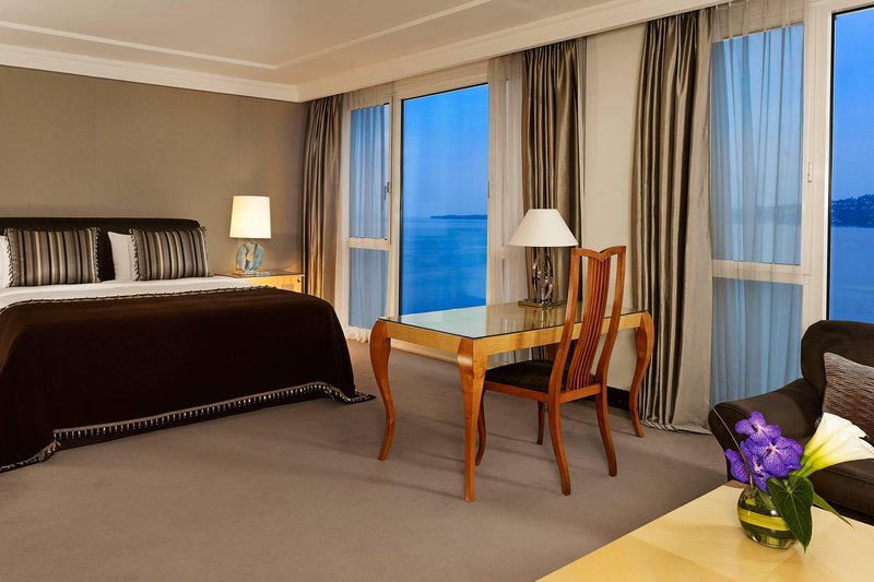 Hotel President Wilson; a Luxury Collection Hotel-President Wilson Suite - Bedroom<br/>Image from Leonardo