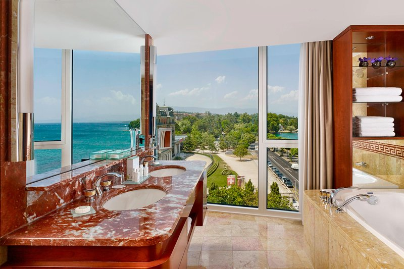 Hotel President Wilson; a Luxury Collection Hotel-President Wilson Suite - Bathroom<br/>Image from Leonardo