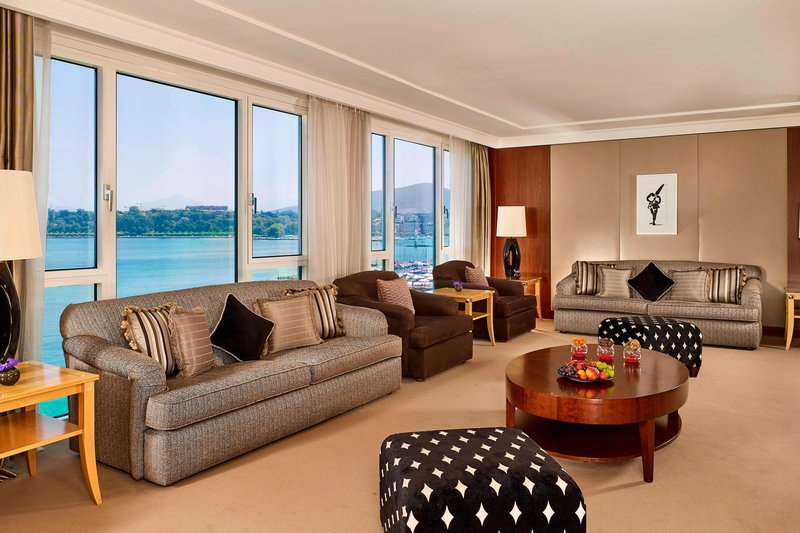 Hotel President Wilson; a Luxury Collection Hotel-President Wilson Suite - Living Room<br/>Image from Leonardo