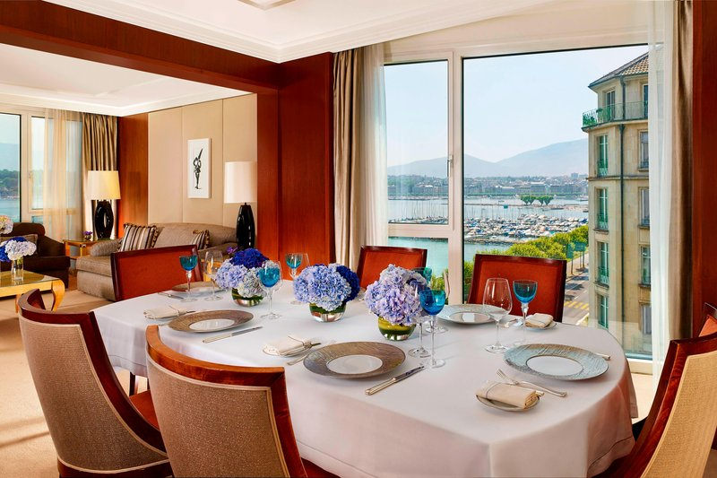 Hotel President Wilson; a Luxury Collection Hotel-President Wilson Suite - Dining Room<br/>Image from Leonardo