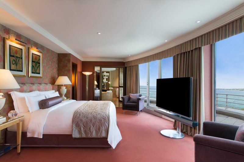 Hotel President Wilson; a Luxury Collection Hotel-Royal Penthouse Suite - Royal Master Bedroom<br/>Image from Leonardo