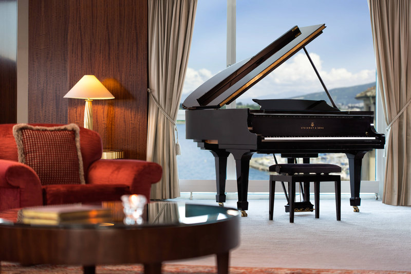 Hotel President Wilson; a Luxury Collection Hotel-Royal Penthouse Suite - Imperial Steinway Grand Piano<br/>Image from Leonardo