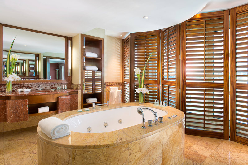 Hotel President Wilson; a Luxury Collection Hotel-Royal Penthouse Suite - Royal Master Bathroom<br/>Image from Leonardo