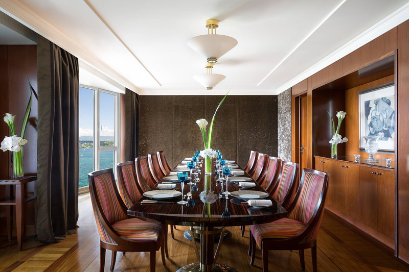 Hotel President Wilson; a Luxury Collection Hotel-Royal Penthouse Suite - Royal Dining Room<br/>Image from Leonardo