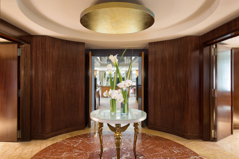 Hotel President Wilson; a Luxury Collection Hotel-Royal Penthouse Suite - Imperial Entrance<br/>Image from Leonardo