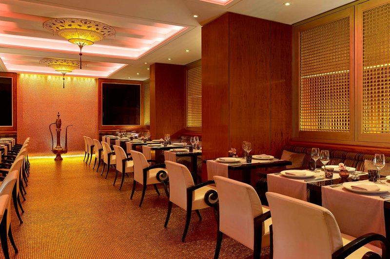 Hotel President Wilson, A Luxury Collection Hotel, Geneva-Arabesque Restaurant Lebanese cuisine<br/>Image from Leonardo