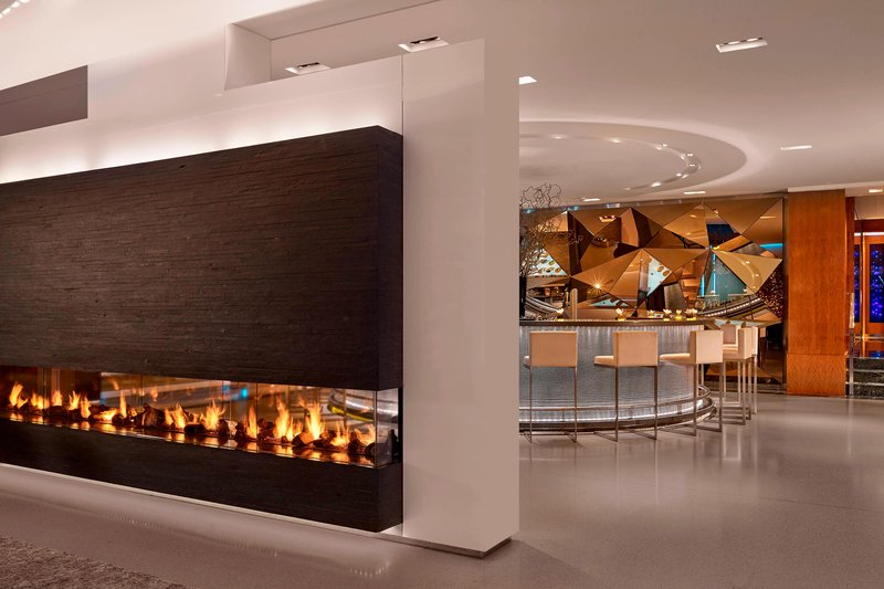 Hotel President Wilson; a Luxury Collection Hotel-Glow Bar Impressive fireplace<br/>Image from Leonardo