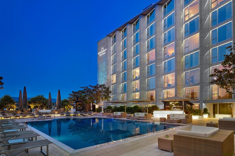 Hotel President Wilson; a Luxury Collection Hotel-PoolGarden Terrace<br/>Image from Leonardo