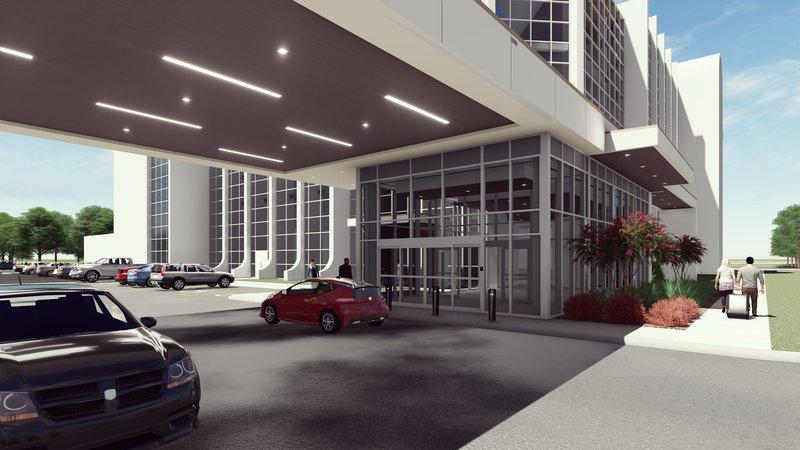 Crowne Plaza Suites Arlington - Ballpark - Stadium-Newly Renovated Modern Porte-cochère & Entrance Coming Soon<br/>Image from Leonardo