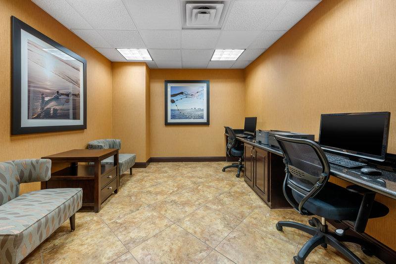 Holiday Inn Express & Suites Palm Coast - Flagler Beach Area-Business Center<br/>Image from Leonardo