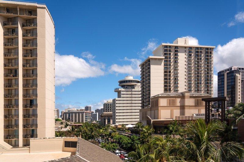 Moana Surfrider, A Westin Resort & Spa, Waikiki Beach - Tower City View <br/>Image from Leonardo