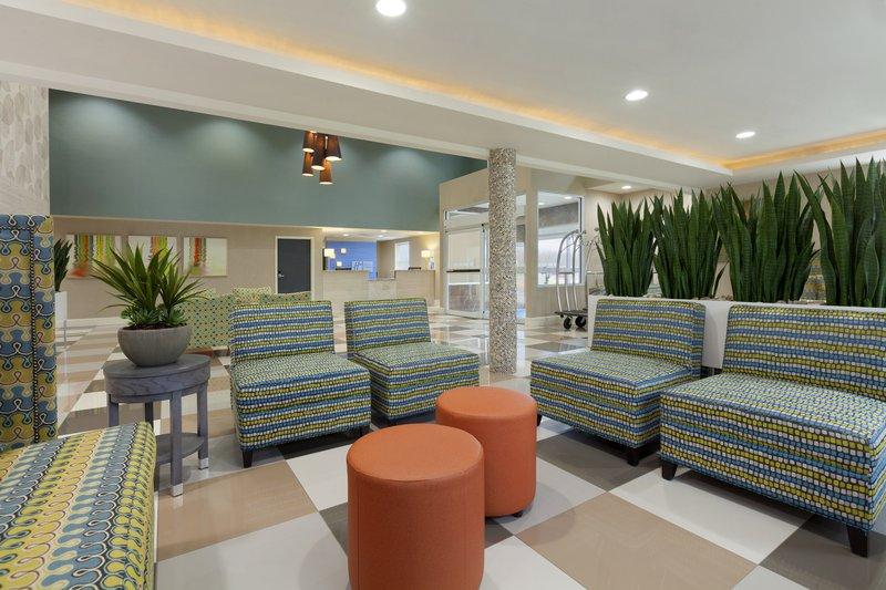 Holiday Inn Express Williamsburg North-Hotel Lobby<br/>Image from Leonardo