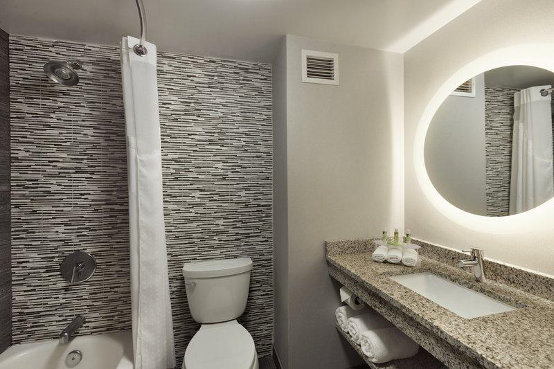 Holiday Inn Express Williamsburg North-Guest Bathroom<br/>Image from Leonardo