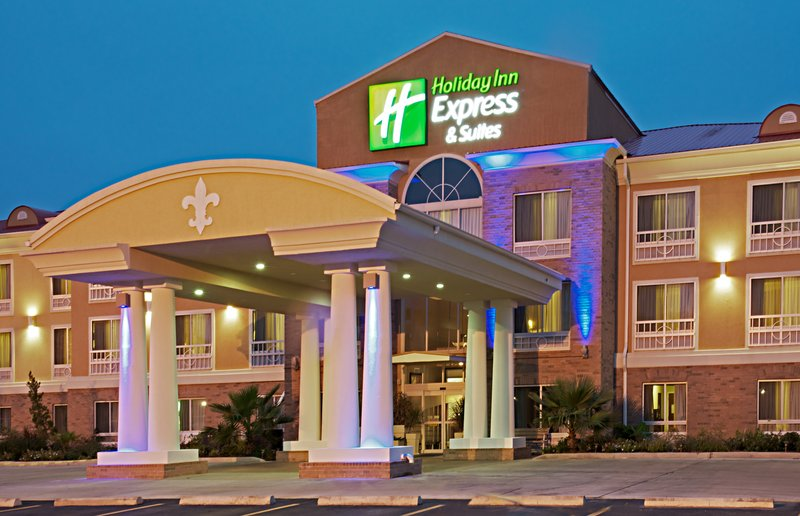 Holiday Inn Express & Suites Alexandria-Guests can see our New Exterior Lighting from N. Macarthur Dr.<br/>Image from Leonardo