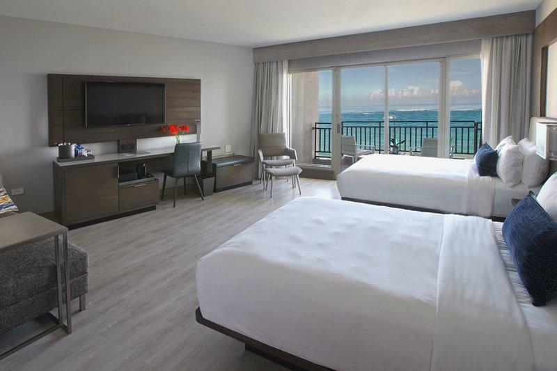 Marriott San Juan Resort - Cabana Double/Double Guest Room - Ocean View <br/>Image from Leonardo
