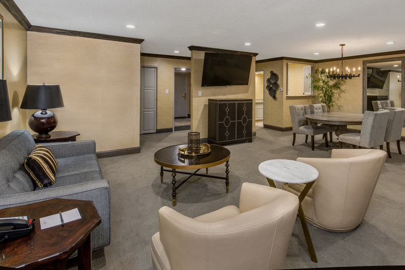 Crowne Plaza Resort Asheville-Our Thomas Wolfe Suite is a great space for small groups to gather<br/>Image from Leonardo