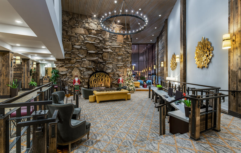 Crowne Plaza Resort Asheville-Get some work done while you relax in our Lobby Business Center<br/>Image from Leonardo