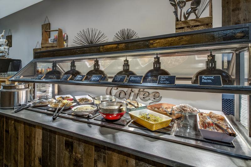 Crowne Plaza Resort Asheville-Breakfast Bar<br/>Image from Leonardo