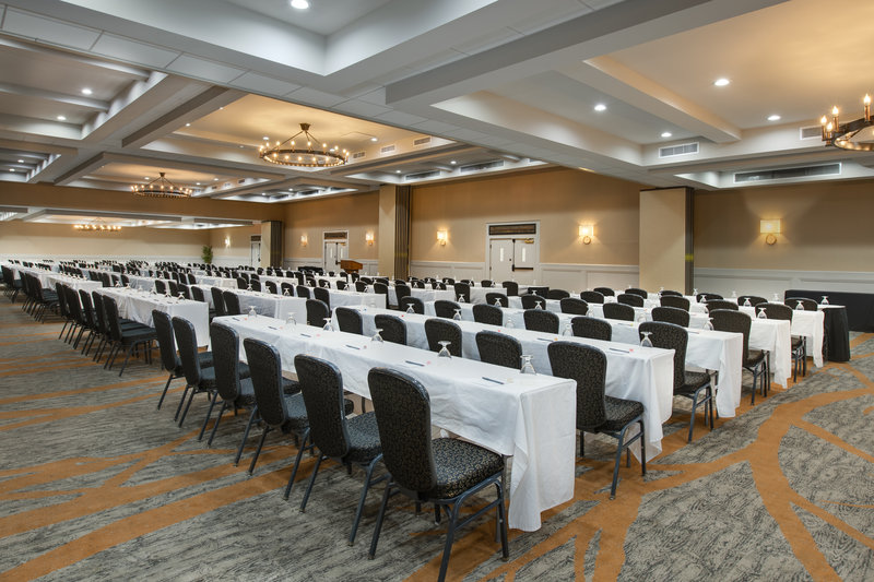 Crowne Plaza Resort Asheville-The Crowne Ballroom can double as several sized meeting rooms!<br/>Image from Leonardo