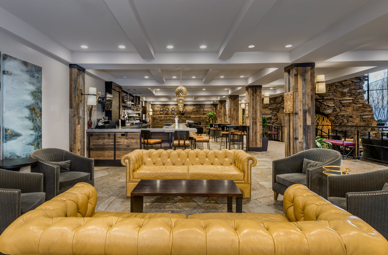 Crowne Plaza Resort Asheville-Enjoy a drink and relax in our 828 AVL Lobby Bar<br/>Image from Leonardo