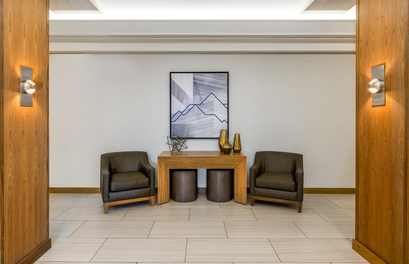 Crowne Plaza Downtown Denver-Welcome to our hotel lobby with free Wi-Fi.<br/>Image from Leonardo