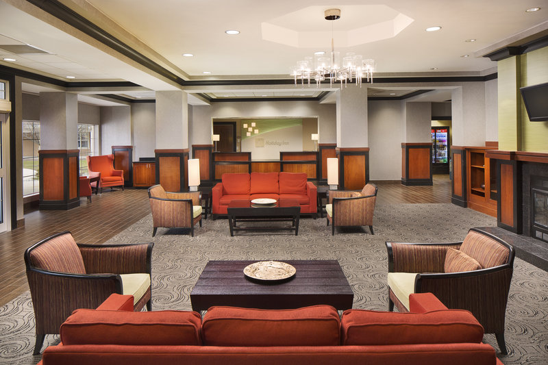 Holiday Inn Grand Rapids - Airport-Newly Renovated and Welcoming Hotel Lobby<br/>Image from Leonardo