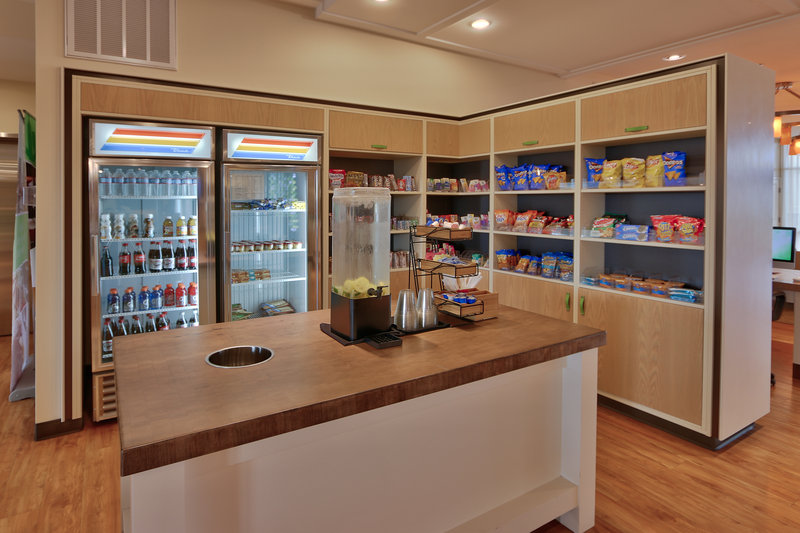 Holiday Inn Roswell-24 Hour Market, stocked full with snacks and beverages.<br/>Image from Leonardo