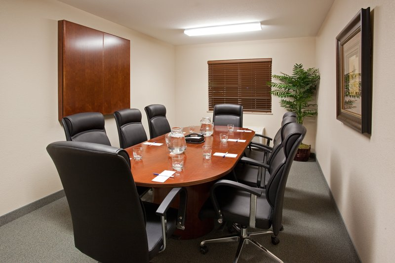 Candlewood Suites Cheyenne-Our board room can accommodate small meetings of up to 8 people.<br/>Image from Leonardo