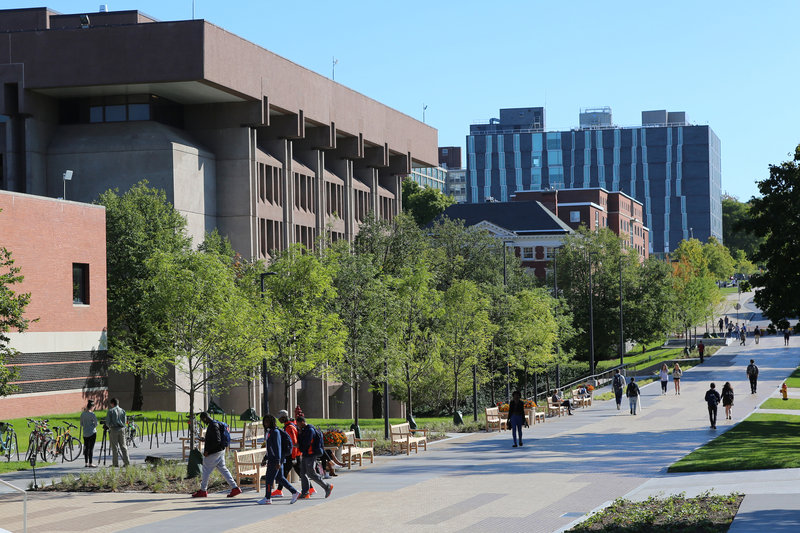 Crowne Plaza Syracuse-Bird Library located at Syracuse University.<br/>Image from Leonardo