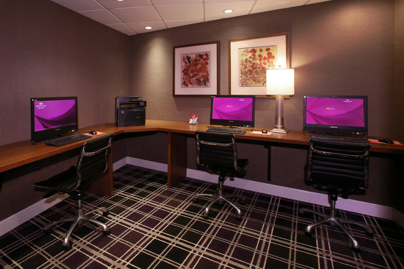 Crowne Plaza Syracuse-Our business center is available 24/7 for our guests.<br/>Image from Leonardo