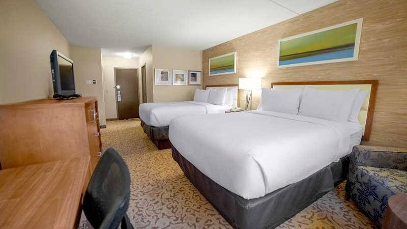 Holiday Inn Ann Arbor - Near University of Michigan-Double Bed Guest Room<br/>Image from Leonardo