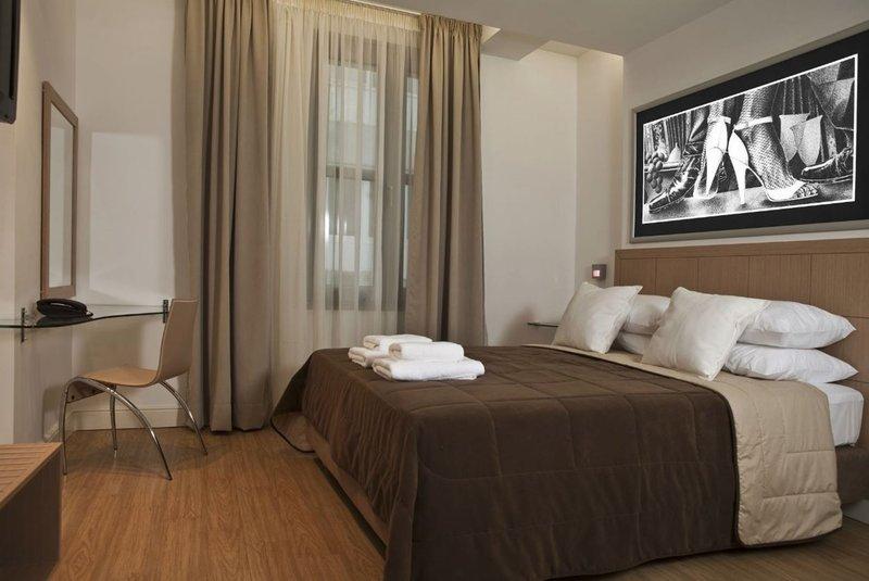 Athens Tiare Hotel-Bedroom Double<br/>Image from Leonardo