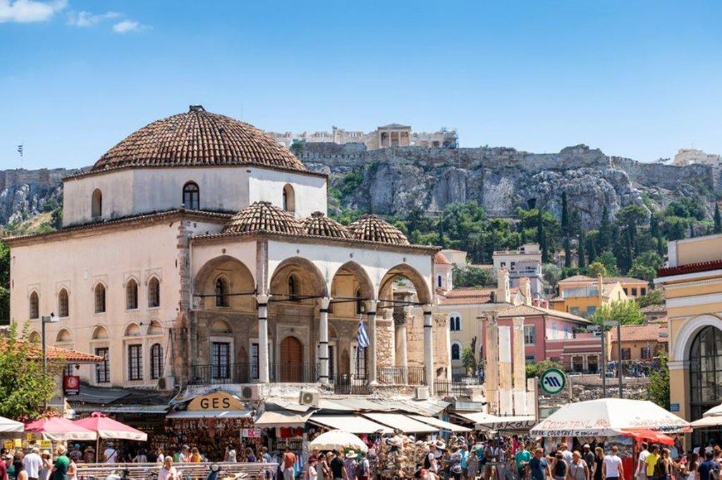 Athens Tiare Hotel-Monastiraki Square<br/>Image from Leonardo