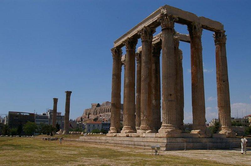 Athens Tiare Hotel-Temple Of Zeus<br/>Image from Leonardo
