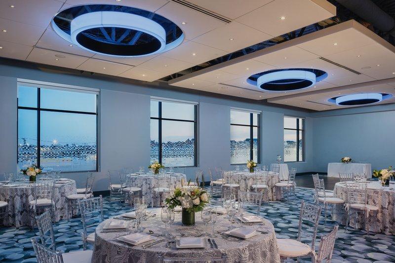Aloft Boston Seaport-Mann Ballroom - Wedding Reception<br/>Image from Leonardo